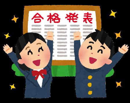 山形県県立高校 推薦入試合格内定状況